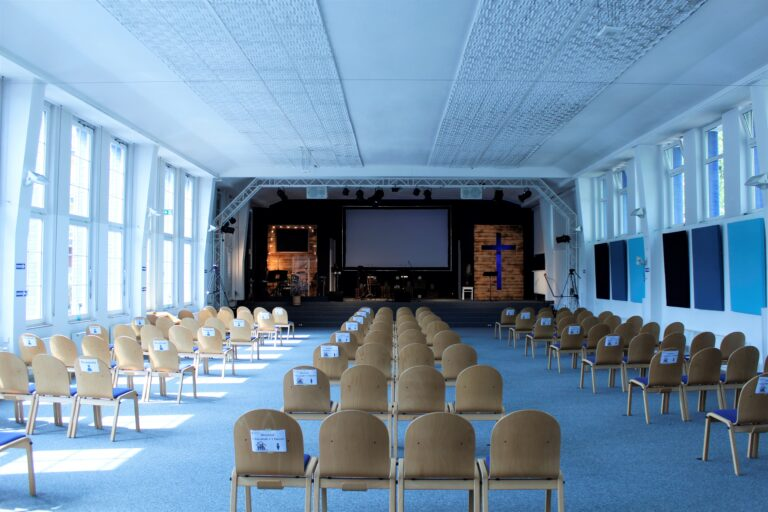 Gemeindesaal Coronazeiten