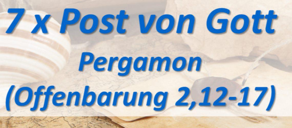 7 x Post von Gott - Pergamon