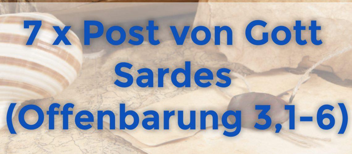 7 x Post von Gott - Sardes