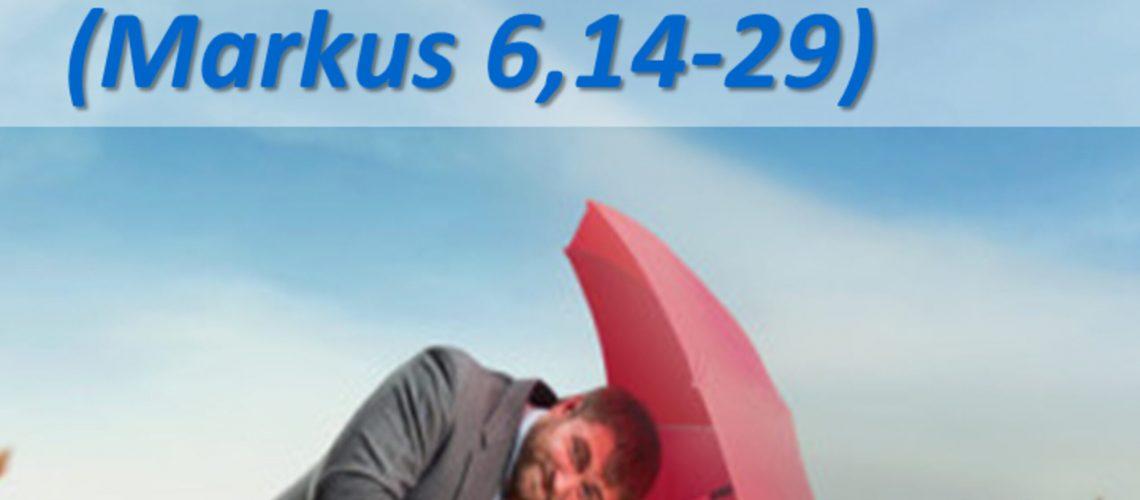 Markusevangelium 23 - Gegenwind